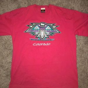 Vintage 1991 Pink Colorado T-Shirt